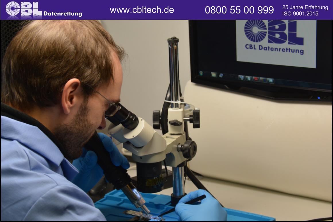 labor smartphone datenrettung microskop
