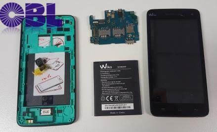 wiko smartphone datenrettung erfolgreich zerlegt