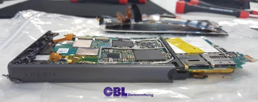 Sony Xperia Datenrettung nach Unfall
