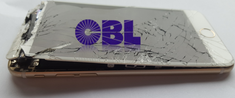 Schwer beschädigtes iPhone zur Datenrettung