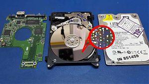 Datenrettung Festplatte physikalisch beschädigt